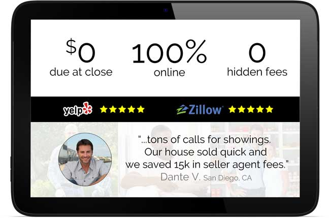 Saving money selling your home with homecoin is super easy and we have great reviews for our flat fee mls listing.